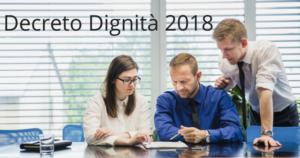Decreto dignità, tutte le novità per dipendente e datore di lavoro